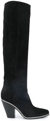 Le Silla crystal embellished knee-high boots