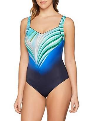 Sunflair Women's Blue Charm Swimsuit,(Size: 50B)