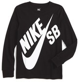 Nike Boy's 'Sb Logo' Graphic T-Shirt