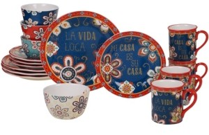 Certified International La Vida 16-Pc. Dinnerware Set