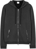 Derek Rose Devon Charcoal Hooded Cotton Sweatshirt