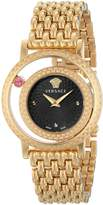 Versace Women's VDA040014 Venus Analog Display Quartz Gold Watch