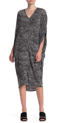 Couture Go 3/4 Sleeve Oversized Maxi Dress