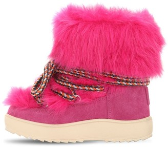 Colors of California WATERPROOF FAUX FUR SNOW BOOTS