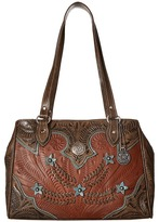 American West Desert Wildflower Large 3 Compartment Shopper