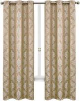 Asstd National Brand Geneva 2-Pack Grommet-Top 76X95 Curtain Panels