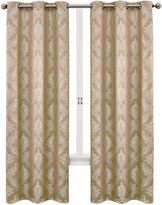 Asstd National Brand Geneva 2-Pack Grommet-Top Curtain Panels