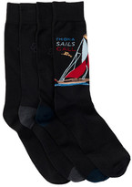Tommy Bahama Yatch Socks - Pack of 4