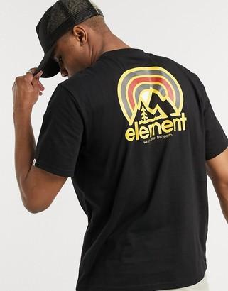 Element Sonata t-shirt in black