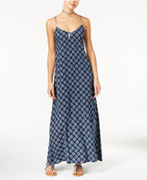 Roxy Juniors' Stillwater Sleeveless Jacquard Maxi Dress