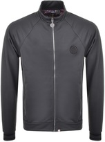 Pretty Green Paisley Full Zip Track Top Grey