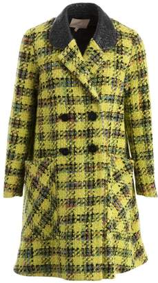 Roksanda Ilincic Yellow Wool Coat for Women