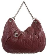 Chanel Coco Pleats Hobo w/ Tags
