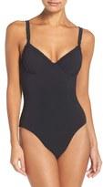 Tory Burch Women's Ruffle Underwire One-Piece Swimsuit