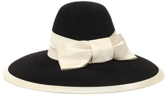 Gucci Bow-embellished felt hat