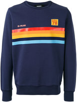 Diesel 'S-Joe' rainbow panel sweatshirt - men - Cotton - S