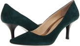 Calvin Klein - Dolly Kid Suede (Dark Green) - Footwear