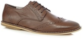 Red Herring Chocolate Lace Up Brogues