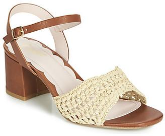 Miss L Fire Miss L'Fire MIRO women's Sandals in Brown