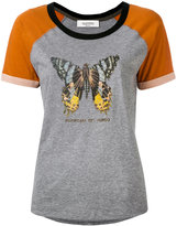 Valentino butterfly printed T-shirt - women - Cotton - S