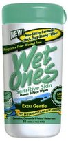 Energizer Personal Care 04670 Wet Ones 40-Count Cucumber & Chamomile Sensitive Skin Cleaning Wipes - Quantity 12
