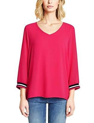 Street One Women's Rafaela Longsleeve T - Shirt, Dark Blossom Pink 11709, (Size:38)