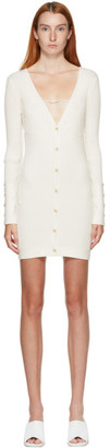 Jacquemus Off-White Le Cardigan Lauris Dress
