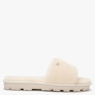 UGG Womens Cozette Natural Sheepskin Slippers