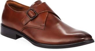 Kenneth Cole Men's Leather Monk-Strap Dress Shoes