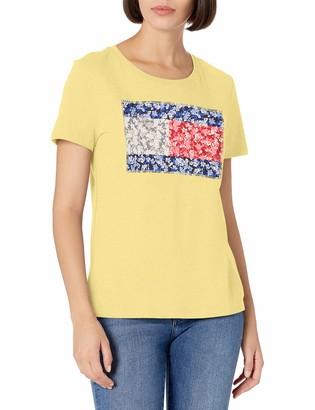 Tommy Hilfiger Tommy Women's Flag Logo Tee