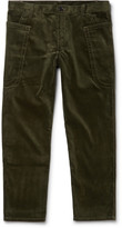 Comme Des Garçons Shirt - Cropped Cotton-corduroy Trousers