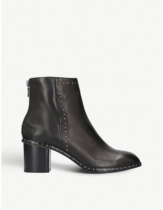 Rag & Bone Willow micro-stud leather heeled ankle boots