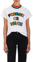 "Mira Mikati Women's ""Forever Or Never"" Cotton T-Shirt"
