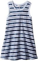 Splendid Littles Indigo Striped Dye Dress (Little Kids)