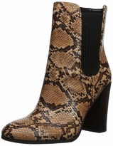 Kenneth Cole New York Womens Alyssa Stretch Knit Floral Heeled Bootie Fashion Boot
