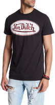 Von Dutch Logo Graphic Print T-Shirt
