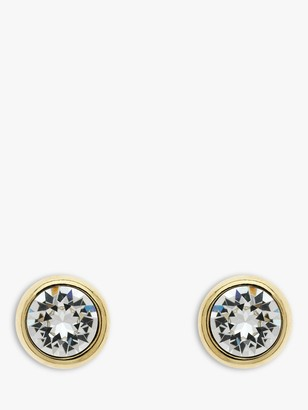 Melissa Odabash Swarovski Crystal Round Stud Earrings