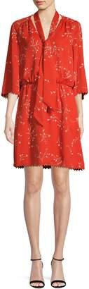 Joie Floral Blouson Dress