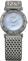 Jowissa Women's J2.080.M Roma MoL Blue Mother-of-Pearl Roman Numerals Stainless-Steel Watch