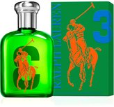 Ralph Lauren the Big Pony Collection 3 by for Men Eau De Toilette Spray, 2. 5-Ounce