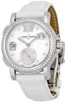 Ulysse Nardin Dual Big Time Automatic Mother of Pearl Dial White Leather Ladies Watch 243-22B-391