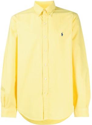 Ralph Lauren Long Sleeve Logo Embroidered Shirt