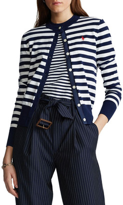 Polo Ralph Lauren Striped Cotton Cardigan