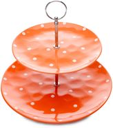 Maxwell & Williams Maxwell & WilliamsTM Sprinkle 2-Tier Cake Stand in Orange