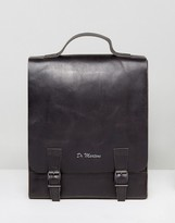 Dr. Martens Leather Box Backpack