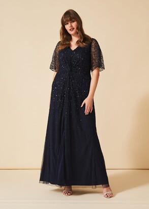 Phase Eight Nancy Sequin Maxi Dress
