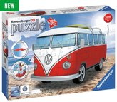 Ravensburger Volkswagen T1 Camper Van Surfer 3D Puzzle - 162 Piece