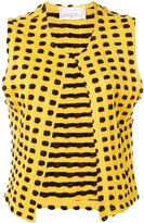 1970's Graphic Knitted Vest