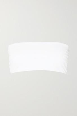 Mara Hoffman + Net Sustain Abigail Bandeau Bikini Top - White