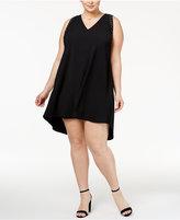 Rachel Roy Trendy Plus Size Studded High-Low Dress